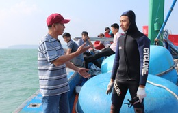 Ngừng tìm kiếm 4 ngư dân mất tích trên vùng biển Quảng Ngãi