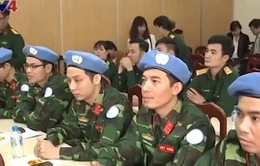 Việt Nam cử thêm 5 sĩ quan tham gia lực lượng Gìn giữ hòa bình