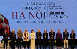Tổ chức Liên hoan Phim quốc tế Hà Nội lần thứ 4