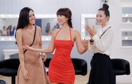 """Siêu mẫu Hà Anh bày """"chiêu độc"""" cho thí sinh Hoa khôi Áo dài Việt Nam"""
