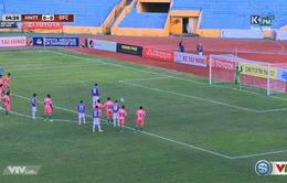 VIDEO V.League 2016: Gonzalo sút hỏng phạt đền