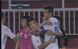 VIDEO: CLB Sài Gòn 0-3 Hà Nội T&T: Gonzalo lập cú đúp, Hà Nội T&T lên ngôi đầu