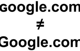 Cảnh giác trang web mạo danh công cụ tìm kiếm của Google