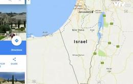 """Dư luận thế giới """"dậy sóng"""" sau thông tin Palestine bị xóa trên Google Maps"""