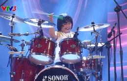 Got Talent: Giám khảo hò hét cuồng nhiệt trước tài năng đánh trống 8 tuổi