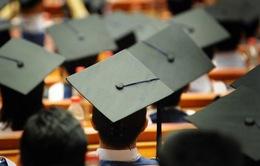 Việt Nam xếp thứ 6 về du học sinh tại Mỹ