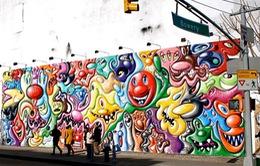 Tranh Graffiti - Nét hấp dẫn độc đáo của New York, Mỹ