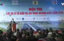 Khai mạc Hội thi lái xe giỏi và an toàn ngành GTVT