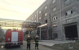 Vụ nổ nhà máy điện ở Trung Quốc: Do vỡ đường ống hơi nước