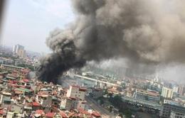 Cháy lớn tại 109 Trường Chinh, Hà Nội