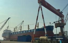 Hạ thủy tàu chở hàng 56.200 DWT tại Hải Phòng