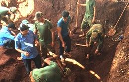 Phát hiện mộ chôn liệt sỹ tập thể ở Gia Lai