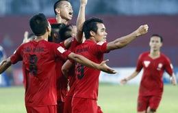Hải Phòng 2-1 QNK Quảng Nam: Trọng tài sai lầm, Hải Phòng giành 3 điểm quan trọng