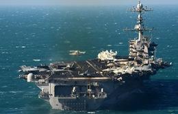 Hai tàu sân bay Mỹ tập trận tại vùng biển Philippines
