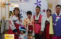 Đoàn tụ trực tuyến cô dâu Việt lấy chồng Hàn