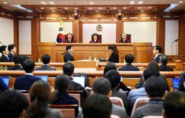 Phiên điều trần đầu tiên về luận tội Tổng thống Hàn Quốc