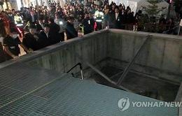 Sập đường hầm ở Hàn Quốc, 12 người thương vong