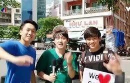 Những bạn trẻ Hàn Quốc yêu mến Việt Nam