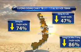 Khô hạn tại Nam Trung Bộ có thể kéo dài đến tháng 8