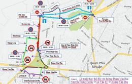 Từ ngày 27/8, điều chỉnh lưu thông quanh sân bay Tân Sơn Nhất