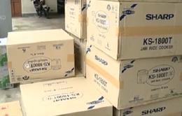 Bắt giữ xe tải vận chuyển hàng hóa không có giấy tờ tại Hà Tĩnh