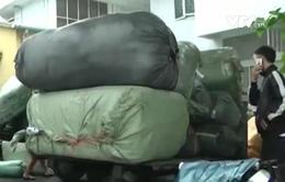 Đà Nẵng phát hiện 10 tấn hàng lậu vận chuyển bằng tàu hỏa