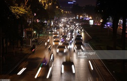 Hà Nội ô nhiễm không khí nghiêm trọng về đêm