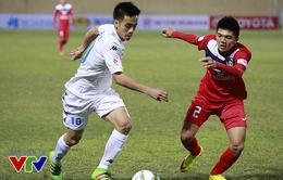 Vòng 3 V.League 2016: HAGL chia điểm đáng tiếc, derby Hà Nội thiếu kịch tính