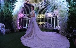 Ngắm 3 bộ váy cưới đẹp lung linh của cô dâu Hari Won