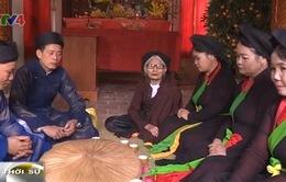Hát canh - tục hát cổ nhất của quan họ Bắc Ninh