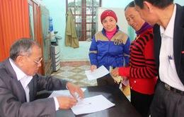 Hàng trăm hộ nghèo được trả lại tiền đóng góp xây dựng nông thôn mới
