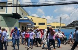 TP.HCM: 4.000 công nhân đình công vì doanh nghiệp điều chỉnh lương