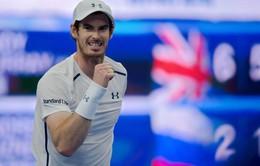 Vòng 2 China Open 2016: Andy Murray nhẹ nhàng bước tiếp