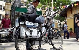 Chàng trai đạp xe xuyên Việt 2.000 km vận động hiến tạng