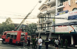 Cháy đại lý vé số tại Cần Thơ, 1 người bị thương nặng