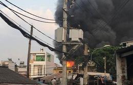 Cháy lớn khiến 2 người tử vong tại TP.HCM