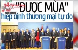 """2015 - Năm """"bội thu"""" các hiệp định thương mại tự do"""
