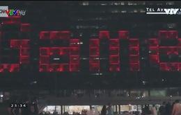 Tòa thị chính Tel Aviv biến thành trò chơi xếp hình khổng lồ