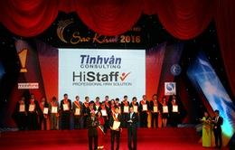 Histaff lần thứ 7 nhận danh hiệu Sao Khuê