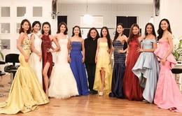 Top 10 Hoa khôi áo dài Việt Nam chọn trang phục dạ hội trước đêm chung kết