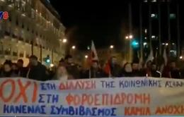 Hy Lạp: Nông dân biểu tình phản đối cải cách thuế, lương hưu