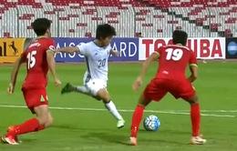 Đè bẹp U19 Tajikistan, U19 Nhật Bản hẹn gặp U19 Việt Nam tại bán kết