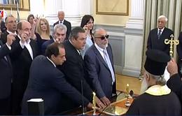 Thủ tướng Hy Lạp Alexis Tsipras cải tổ Nội các