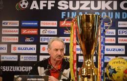 """HLV Indonesia, Alfred Riedl: """"Chúng tôi sẽ vô địch trên sân của Thái Lan"""""""