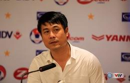 HLV Nguyễn Hữu Thắng nói gì trước trận chung kết cúp Tứ hùng gặp ĐT Singapore?