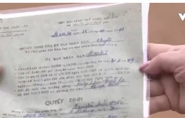 Hà Tĩnh: Người dân bị mất đất vì hồ sơ giả mạo chữ ký