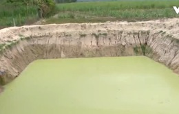 """Phú Yên: Hồ nước cứu hạn vô tình trở thành """"bẫy"""" trẻ em"""