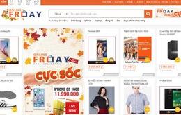 18 ngân hàng hoàn tiền trực tiếp cho người mua hàng ngày Online Friday 2016