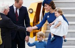 Gia đình Hoàng tử William công du Canada