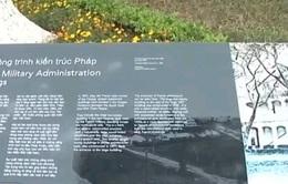 Hà Nội tiếp nhận hệ thống bảng, biển giới thiệu di tích Hoàng thành Thăng Long